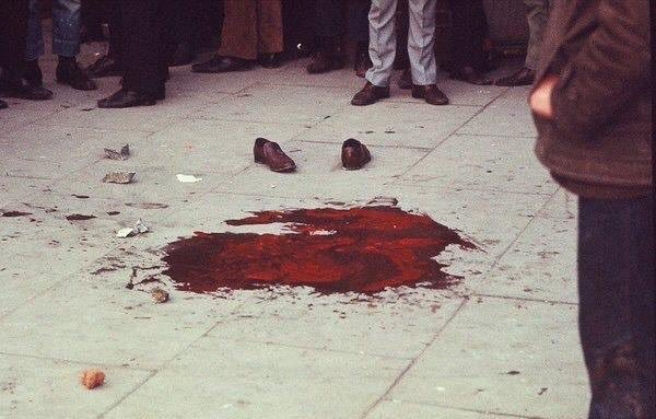Bloody Sunday massacre, 1972